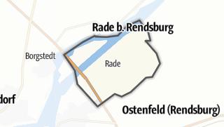 Karte / Rade bei Rendsburg