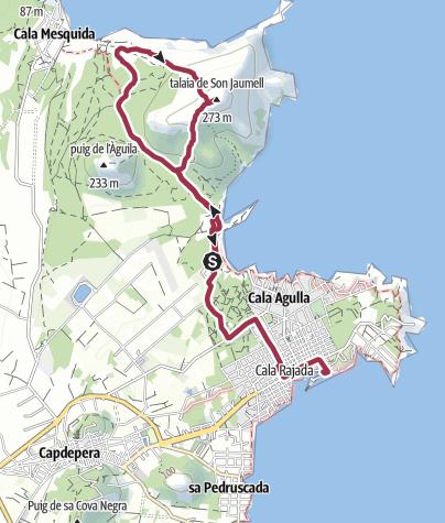 Wanderung zum Talaja de Son Jaumell Cala Ratjada • Wanderung ...