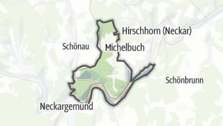 Carte / Neckarsteinach