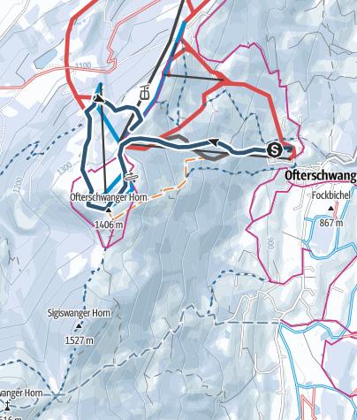 Karte / Allgäu Vertical