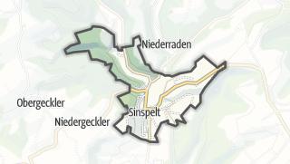 Karte / Sinspelt