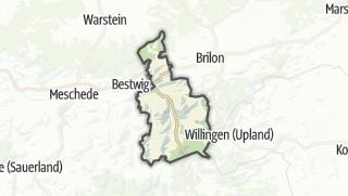 Karte / Olsberg