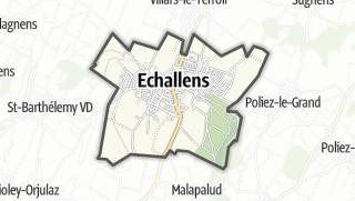 Карта / Echallens