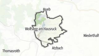 Mapa / Wolfsegg am Hausruck