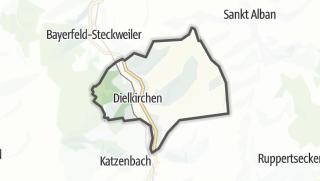 Cartina / Dielkirchen
