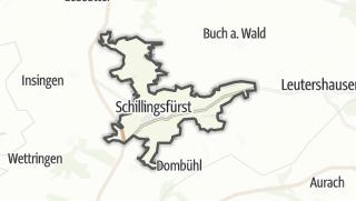 Map / Schillingsfürst