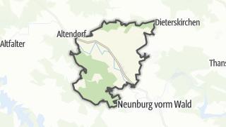 Mapa / Schwarzhofen