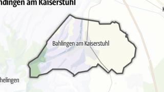 Cartina / Bahlingen am Kaiserstuhl