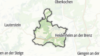 Map / Steinheim am Albuch