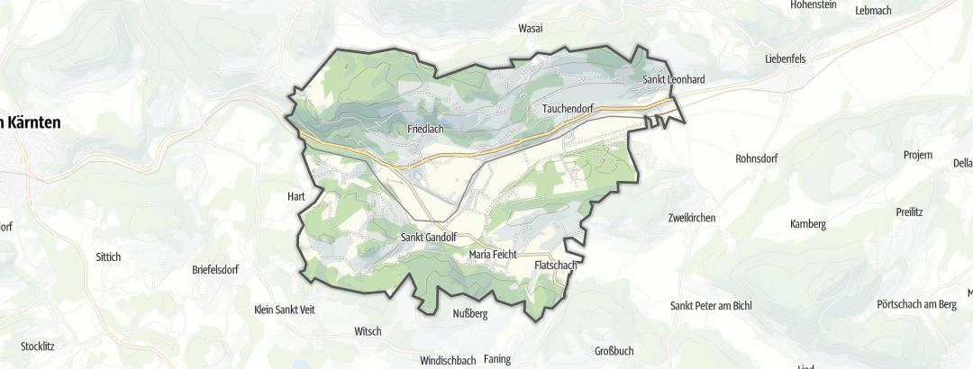 Hartă / Drumeţii in Glanegg