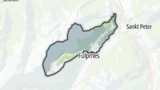 Karte / Telfes im Stubai