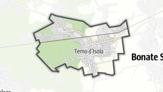 Hartă / Terno d'Isola