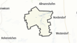 Karte / Ehingen