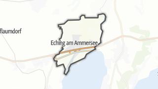 Mapa / Eching am Ammersee
