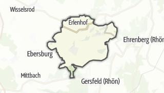 Mapa / Poppenhausen (Wasserkuppe)
