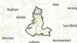Mapa / Nüsttal