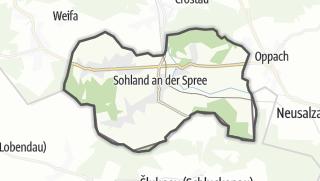 מפה / Sohland a. d. Spree