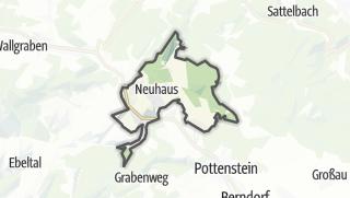 Mapa / Weissenbach an der Triesting