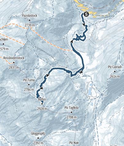 Karte / Badus/Six Madun
