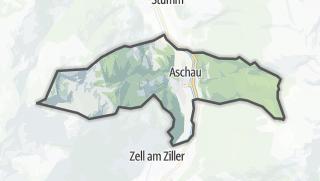 Karte / Aschau im Zillertal