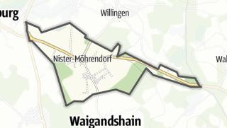 Cartina / Möhrendorf