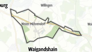 Mapa / Nister-Moehrendorf