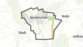 Cartina / Bannberscheid