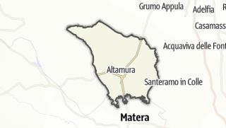Térkép / Altamura