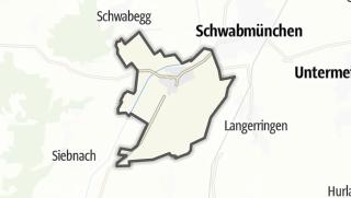 Karte / Hiltenfingen