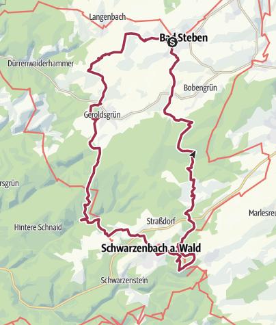 地图 / 24 Stunden von Bayern 2011 Nachtstrecke