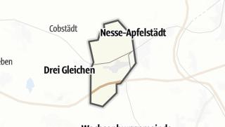 Mapa / Apfelstädt