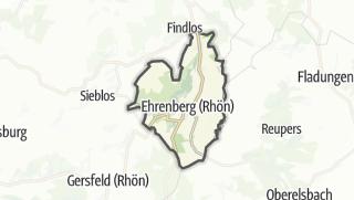 Mapa / Ehrenberg (Rhön)