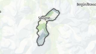 Karte / Savognin