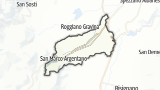Mapa / San Marco Argentano