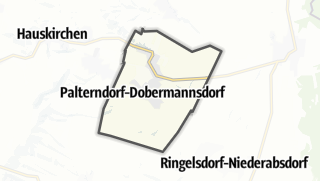 Cartina / Palterndorf-Dobermannsdorf