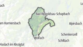 Karte / Oberwolfach