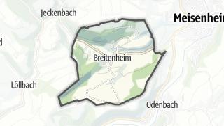 Karte / Breitenheim