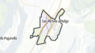 Karte / San Michele all'Adige