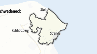 Karte / Strande