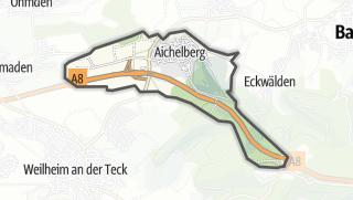 Karte / Aichelberg