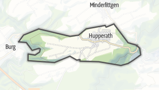 Mapa / Hupperath