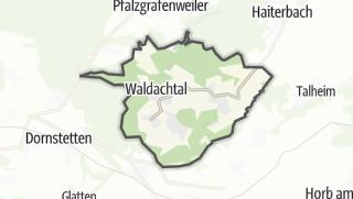 Karte / Waldachtal