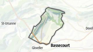 Mapa / Boécourt
