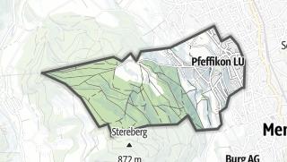地图 / Pfeffikon