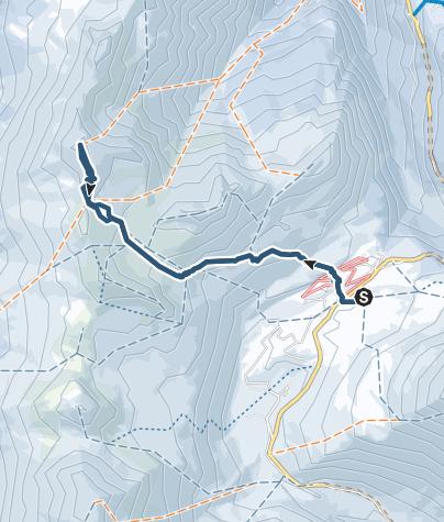 Karte / Skitour aufs Spitzhorli