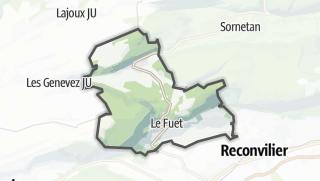 Cartina / Saicourt