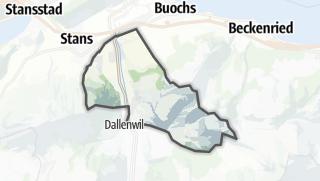 Mapa / Oberdorf (NW)