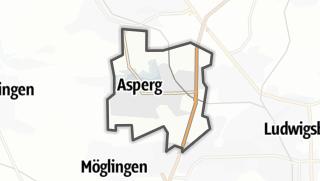 地图 / Asperg