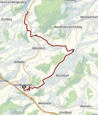 Karte / KulPano2015_Glan-Münchweiler-Theisbergstegen