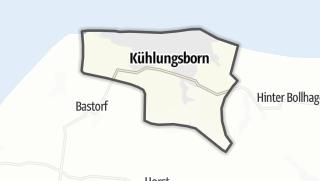 מפה / Kühlungsborn